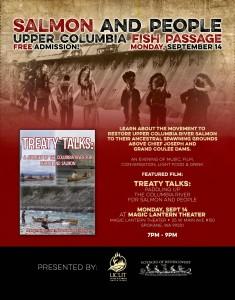 Salmon and People @ Magic Lantern    Spokane   Washington   United States